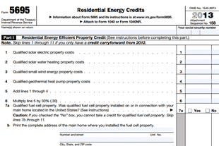 2013 tax credit form for residential hvac