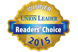 2015 Union Leader's Readers' Choice Award Winner