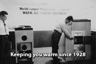 Furnace maintenance since 1928