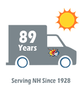 A.J. LeBlanc Heating and air conditioning 89 years anniversary, celebrating 89 years of family business in NH
