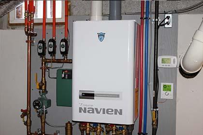 Navien Boiler Installation