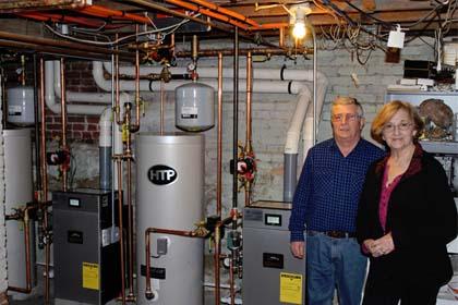 Buderus Boiler Installation