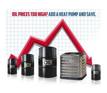 Reduce Oil Consumption - Heat Pump