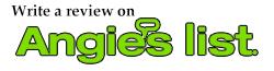 Angies List reviews and testimonials of A.J. LeBlanc Heating