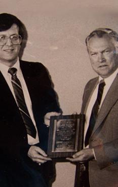 HVAC Award Presented To Armand LeBlanc of NH