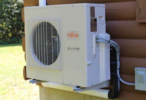 Wall-Mounted Fujitsu Heat Pump