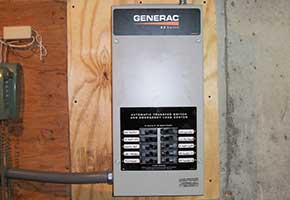 Generator Transfer Switch