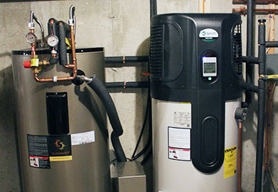 Hybrid Water Heaters and Hybrid Hot Water Tanks