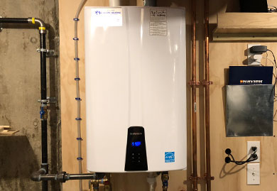 Tankless Water Heater Installations and Service