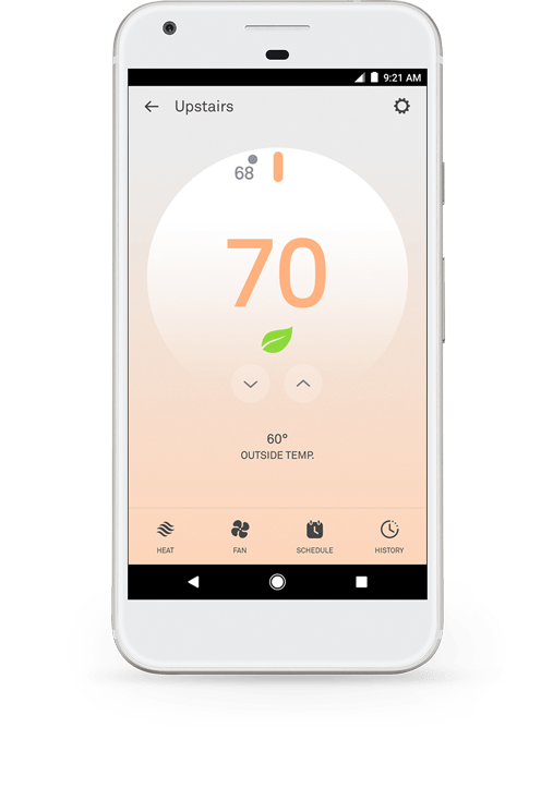 Nest Learning Thermostat - A J  LeBlanc Heating & Air