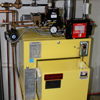 Leblanc Installed System 2000 Boilers