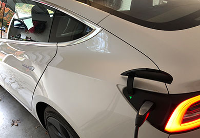 Tesla Electric Vehicle Home Charger Installation
